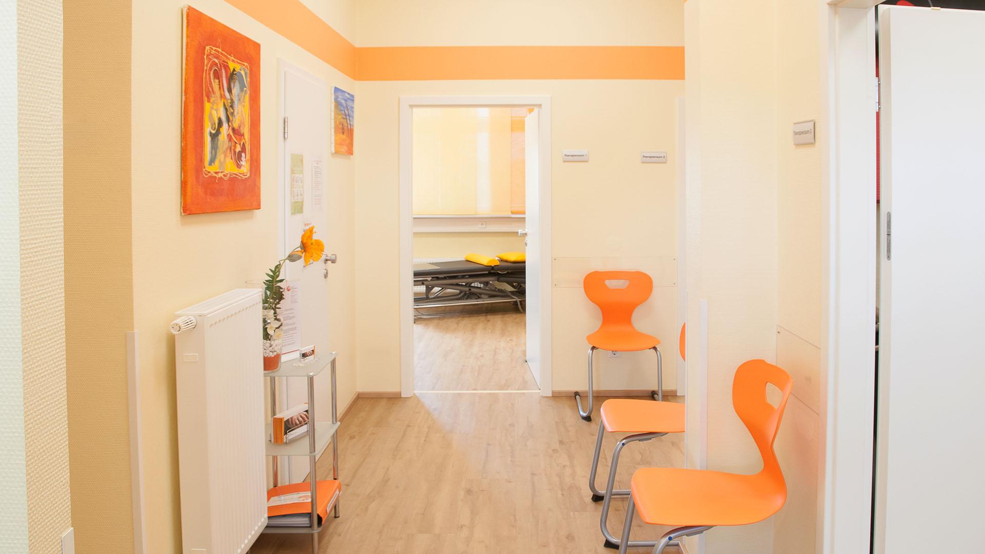 Praxis für Ergotherapie Weber - Eingangsbereich